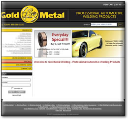 Gold Metal Welding